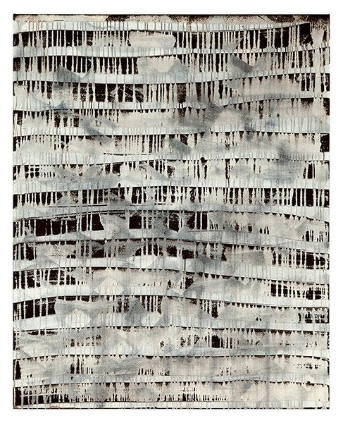 Ifitry IV, 2012 acrylic on cotton 162 x 130 cm.