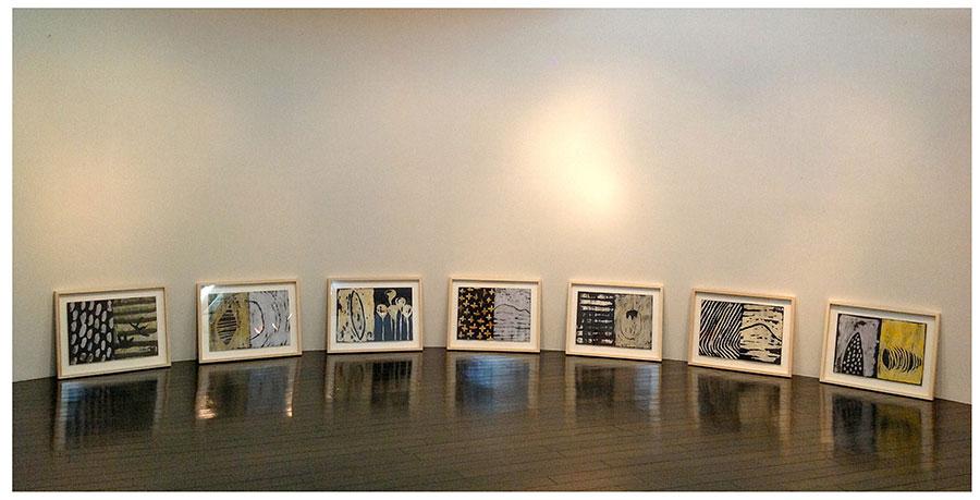 Galerie Petit Bois, Osaka 2012.