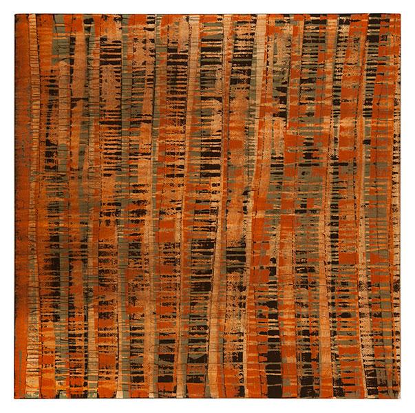 Ifitry I, 2012 acrylic on cotton 150 x 150 cm.