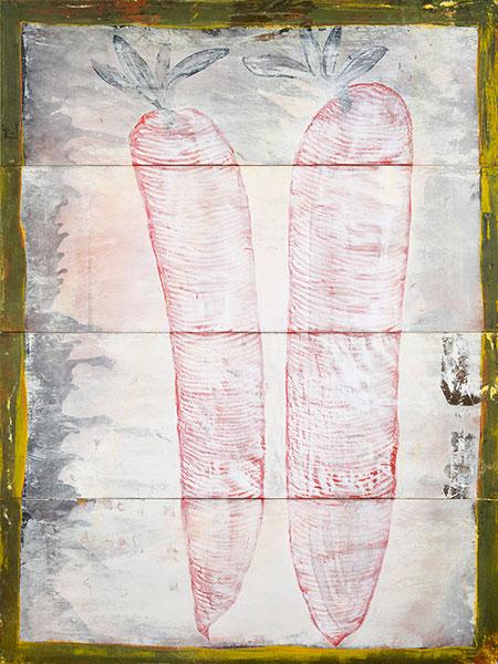 Nihon, 2010 acrylic on canvas, 200 x 150 cm.