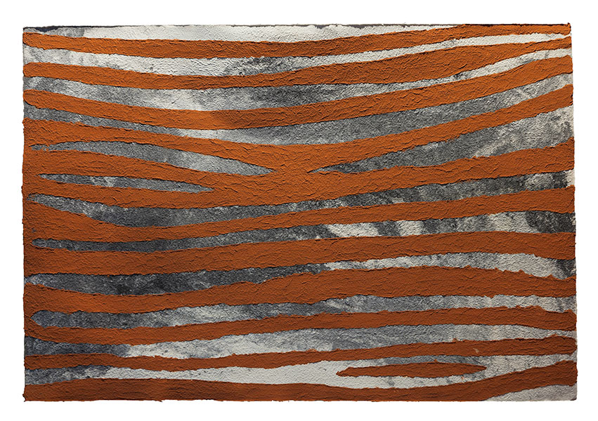 El Turo de les pruneres, 2013 paper, 120 x 175 cm.