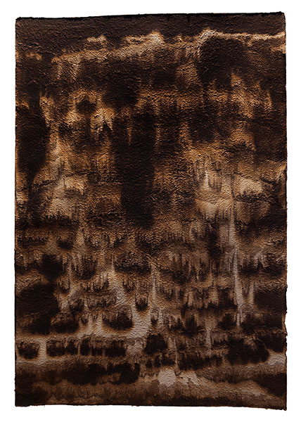 El Turo de les pruneres, 2013 paper, 175 x 120 cm.